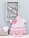 Одежда для куклы Baby Annabell Беби Анабель комплект праздничной одежды Zapf Creation 700198, фото 3