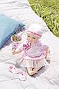 Одежда куклы Baby Annabell Беби Анабель комплект праздничной одежды Zapf Creation 700198, фото 4