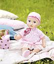 Одежда куклы Baby Annabell Беби Анабель комплект праздничной одежды Zapf Creation 700198, фото 5