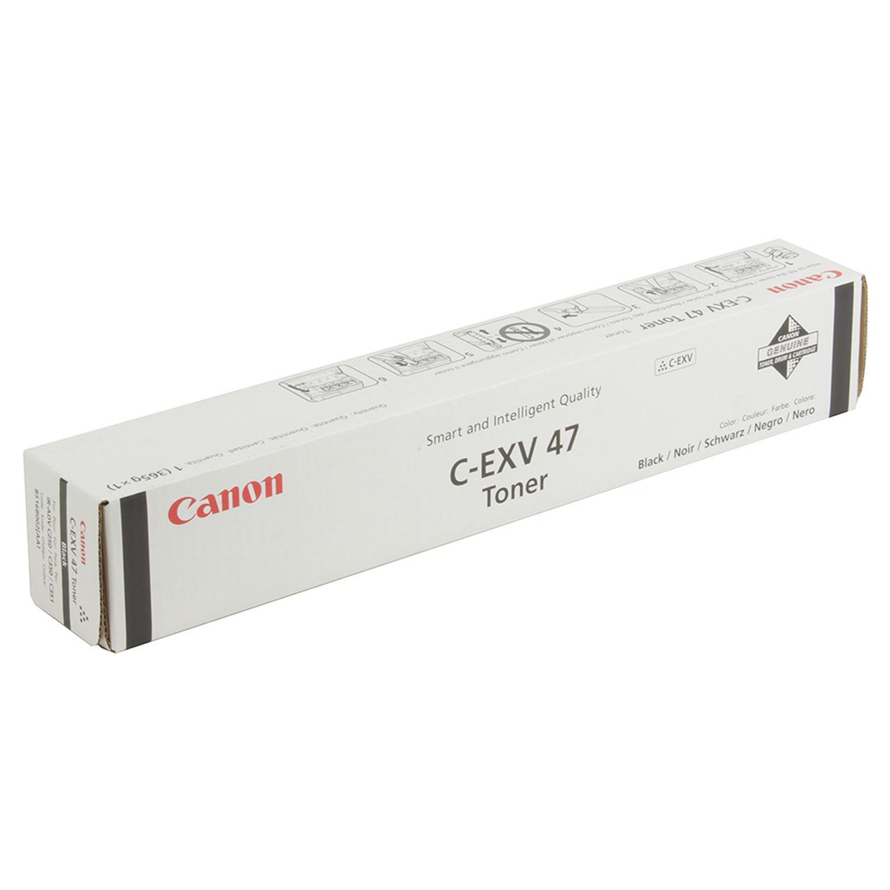 Тонер Canon C-EXV 47 Black