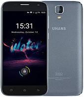 """Uhans A101S gray 2/16 Gb, 5"""", MT6580, 3G"""
