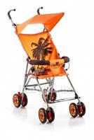 Коляска трость Geoby D222F-R4OT оранжевая