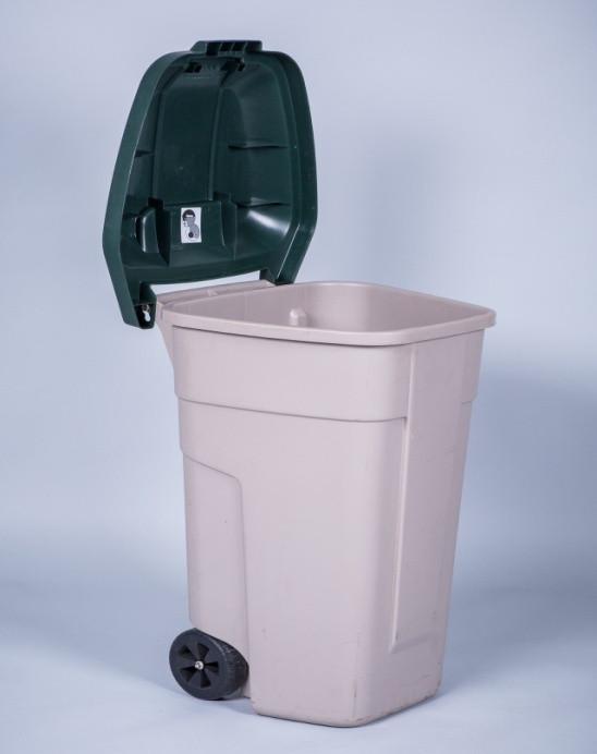 Бак мусорный 120-160л.