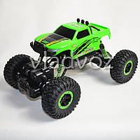 Джип на радио управлении машинка внедорожник модель 4x4 Climber Crawler зелёный 1:18
