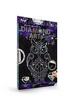 Набор для творчества Алмазная мозаика Сова DAR-01-02