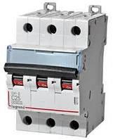 Автоматический выключатель DX3-E 25А 3п 6кА C (автомат) Legrand Легранд