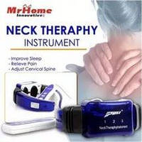 Массажер для шеи миостимулятор Neck Therapy Instrument PL-718A с пультом