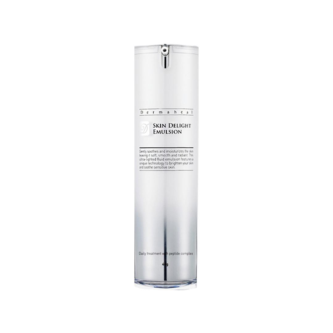 Осветляющая  эмульсия против пигментных пятен для лица, шеи  и декольте Dermaheal Skin Delight Emulsion 40 мл