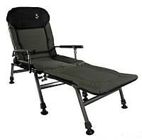 Кресло складное с подставкой для ног Carp Elektrostatyk FK5P+POD, фото 1