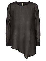Рубашка черного цвета на длинный рукав Koji 1 от  Desires(Дания) в размере S