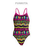 Сдельный купальник для девочек Funkita Serengeti Summer FS16