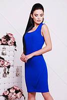 Женское платье ЖАКЛИН электрик 42-50 размеры