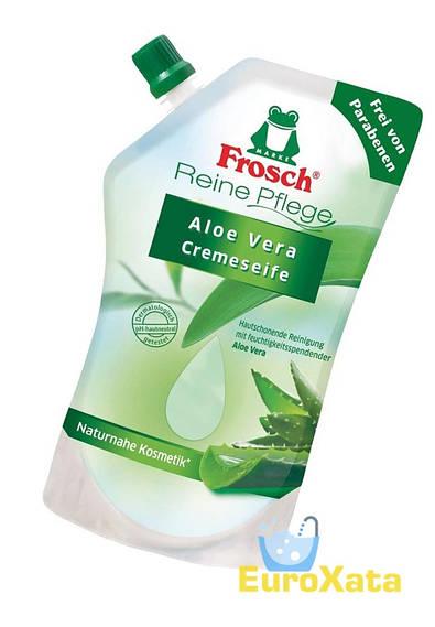 Органическое Крем-мыло Frosch Cremeseife Aloe Vera (750 мл)
