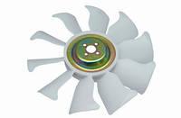Вентилятор крыльчатка двигателя S4S, S6S на погрузчик MITSUBISHI