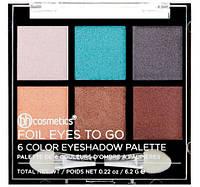 Палетка теней Foil Eyes To Go - 6 Color Eyeshadow Palette BH Cosmetics Оригинал