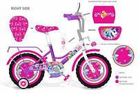 Велосипед двухколесный 14 дюймов 171402 Розовый