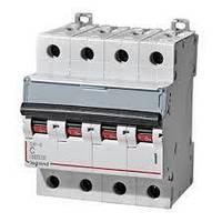 Автоматический выключатель DX3-E 6А 4п 6кА C (автомат) Legrand Легранд