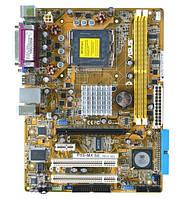 Плата S775 на DDR2 ASUS P5S-MX SE УЦЕНКА-СЕТЬ! понимает 2 ЯДРА ПРОЦЫ INTEL Core2DUO до E6700 775