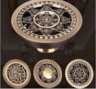 Трап для душевой кабины круглый бронза 0353