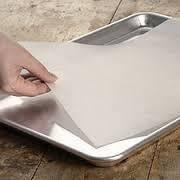Пергамент для  выпекания  силиконизированный  в листах  600*180 мм.