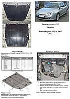 Защита двигателя,КПП и радиатора Renault Laguna III 2007-2011