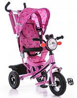 Велосипед трехколесный Лексус BC-17B Air фара розовый