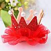 Корона детская на заколке ДЖЕССИКА корона для девочки детские украшения для волос, фото 3