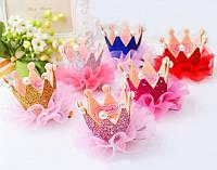 Корона детская на заколке ДЖЕССИКА корона для девочки детские украшения для волос