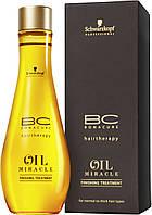 Масло для нормальных и жестких волос SCHWARZKOPF BС Oil Miracle 100 мл