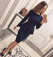 Женский красивый костюм: кофта + юбка (расцветки)  ЕЛХ 0029