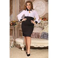 Женское модное платье Скарлет большие размеры размер 48-72