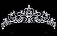 Диадема свадебная корона диадема Доминика Тиара Виктория