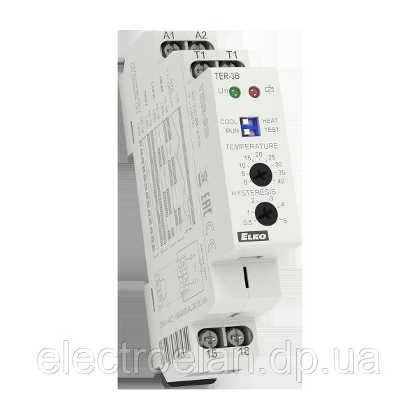 Температурное реле Elko-Ep TER-3H