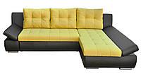 Современный угловой диван Малибу с регулируемым наклоном подлокотников