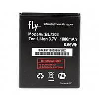 Аккумулятор BL7203 для Fly IQ4405 Quad EVO Chic 1/ Fly IQ4413 Quad EVO Chic 3