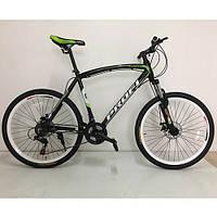 Велосипед спортивный PROFI EXPERT 26.6XL 26 дюймов чёрный