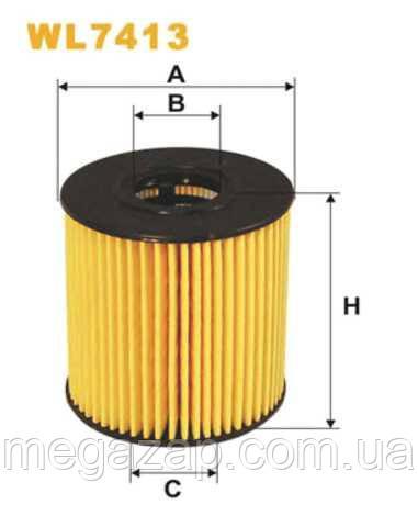 Фильтр масляный WIX WL7413