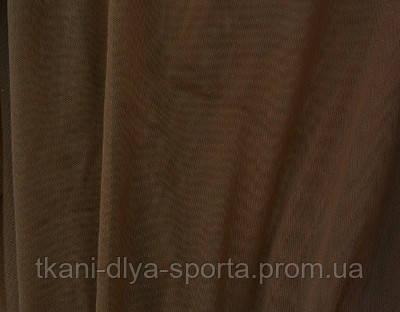 Стрейч-сетка коричневая