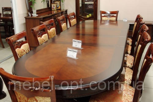 Большой обеденный стол JF-809, стол раскладной