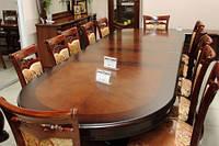 Большой обеденный стол JF-809, стол раскладной, фото 1