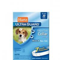 Hartz (Харц) Ultra Guard - Хартц ошейник от блох и клещей для собак, белый (H80484)