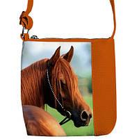 """Сумка детская через плечо BR с принтом """".лошадь"""", сумки для девочек"""