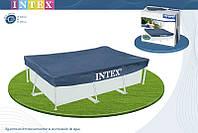 Тент для прямоугольных каркасных бассейнов Intex 28038 300х200см