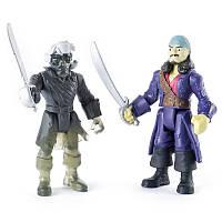 Набор из двух коллекционных фигурок 7,5 см проклятый Уилл и призрак экипажа The Pirates of Caribbean (SM73101-