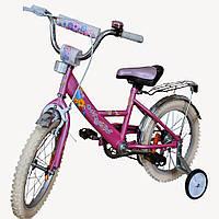 """Велосипед Марс 14"""" (розовый)"""