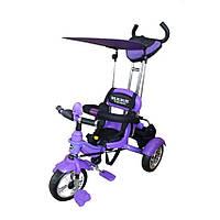 Велосипед 3-х колесный Mars Trike надувные (фиолетовый)