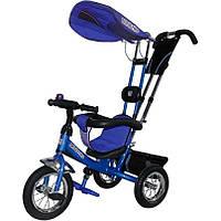 Велосипед 3-х колесный Mini Trike надувные (синий)