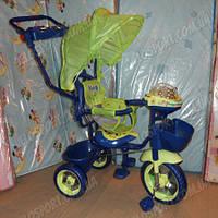 Детский трехколесный велосипед Baby Club King Story