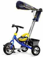 Детские трехколесные велосипеды с прорезиненными колесами