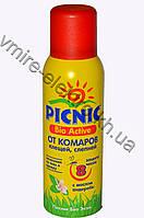 Аэрозоль от комаров, москитов, мокрецов Picnic Bio Active 8 часов 125 мл